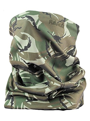 Fishmasks Double Layer Neck Gaiter Moisuture-Wicking, Water-Resistant, UPF 50+, Protects From Sun, Wind And Moisture... by