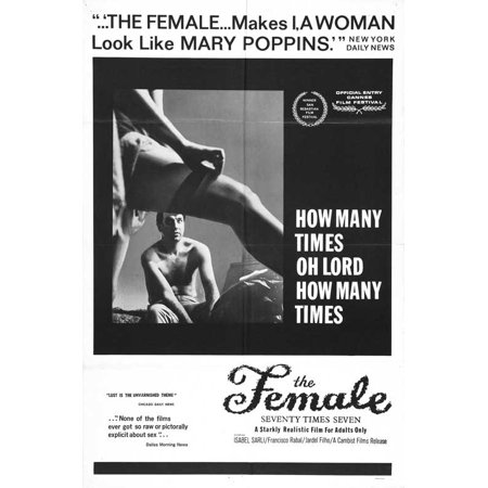 The Female  Seventy Times Seven Poster Movie Mini Promo