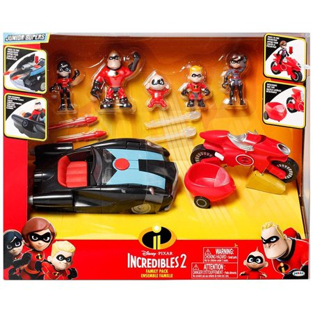 Disney/Pixar The Incredibles 2 Junior Supers Family Pack Play Set - The Incredibles Violet Doll