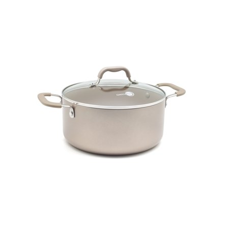 GreenPan Lima Bronze 5-quart Hard Anodized Non-Stick Ceramic Covered Casserole