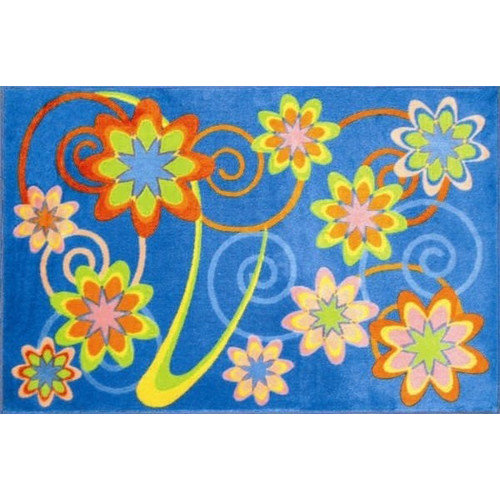 Fun Rugs Supreme Burst Flower Area Rug