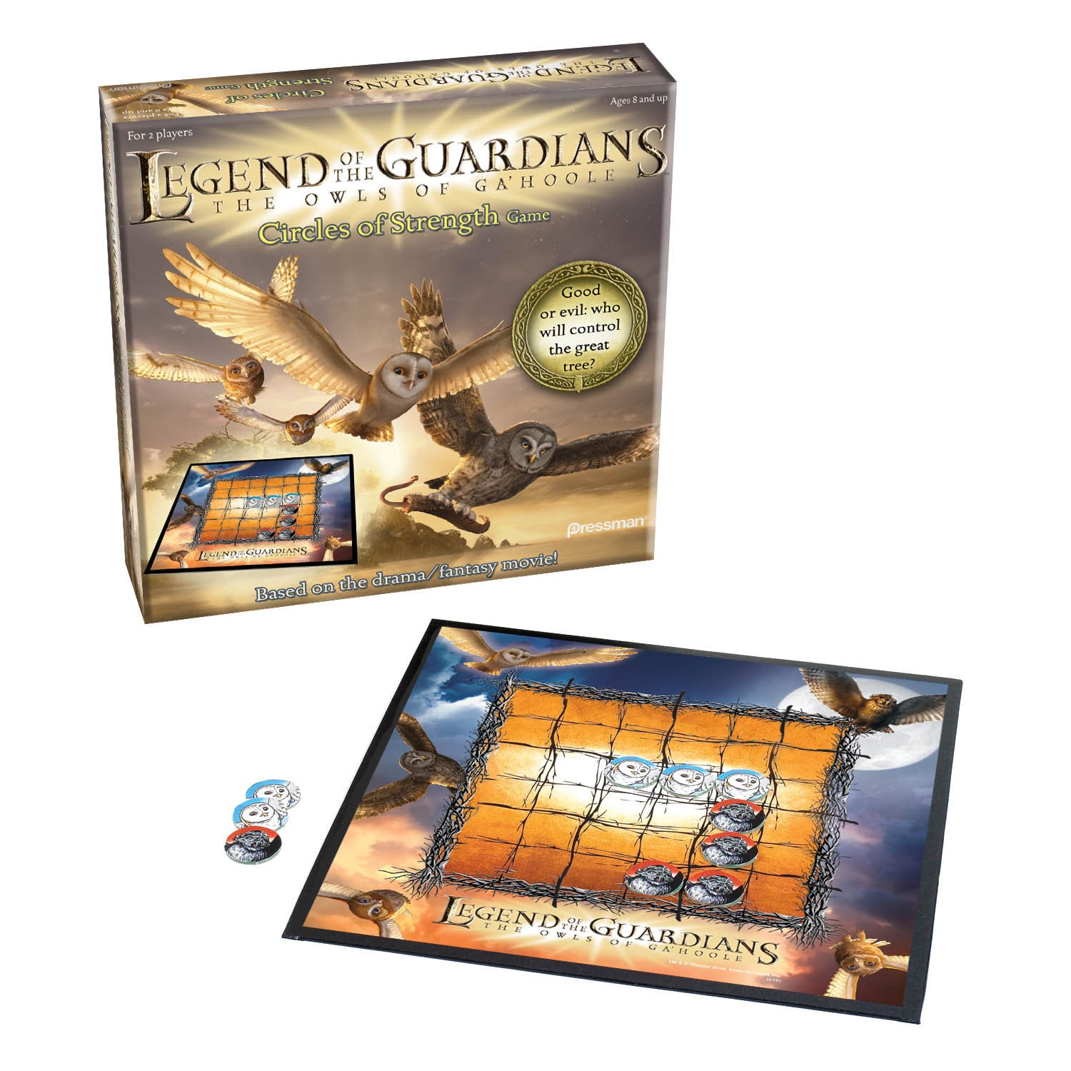 Pressman Toy Legend of the Guardians The Owls of Ga'Hoole Circle of Strength Board Game by Overstock