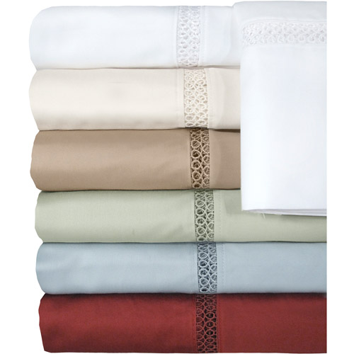 Veratex Princeton Collection 500-Thread Count Bedding Sheet Set