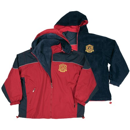 Firefighter Hooded Mid Weight Reversible Wind Breaker