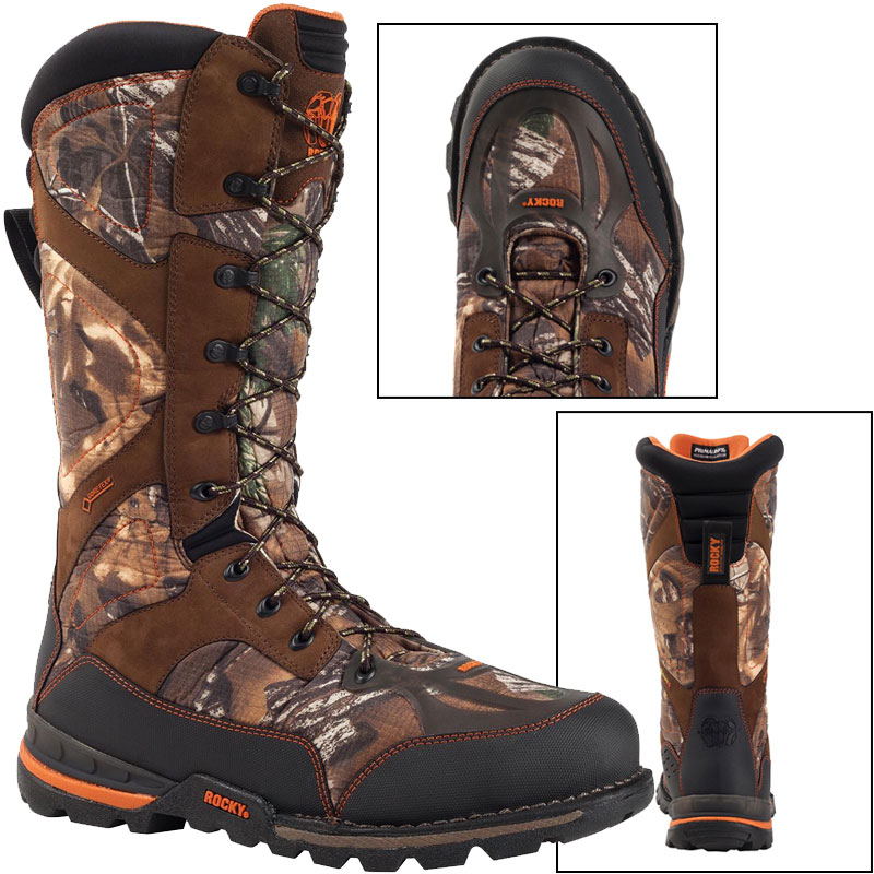 "Rocky Men's 14"" MAXPROTECT Brown Hunting Boots 10.5 M by"