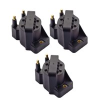 Set of 3 Ignition Coil Packs Compatible with 1992-2005 Buick Lesabre V6 3.8L Replacement for DR39 C849