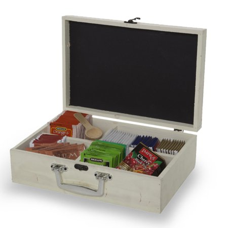 Wooden Display Box with Lid and Chalkboard - Small 11in](Small Wooden Box Plans)