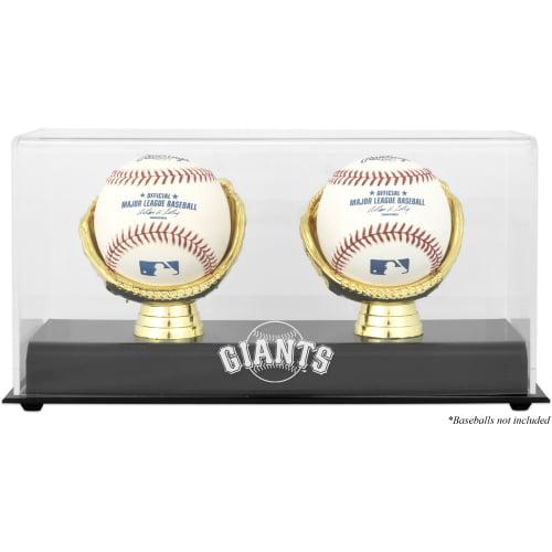 San Francisco Giants Fanatics Authentic Gold Glove Double Baseball Logo Display Case - No Size
