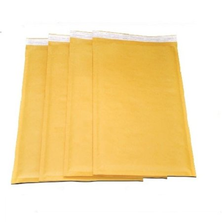 Packagingsuppliesbymail Size no. 3 Self-seal Brown Kraft Bubble Mailers 8.5 x 14.5 Padded Envelopes (Pack of 600)