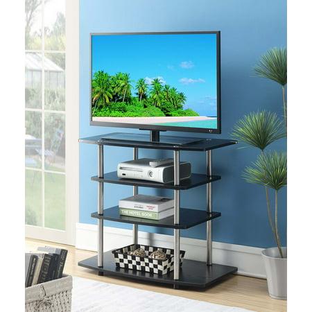 Convenience Concepts Designs2Go No Tools Highboy TV Stand 4d Concepts Tv Stand