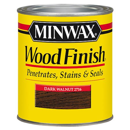 Medium Walnut Finish - Minwax Woodfinish Dark Walnut 1-Qt