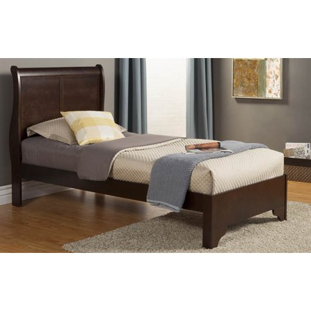 Twin low footboard sleigh bed for Twin footboard