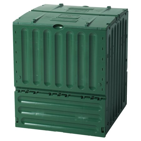 Exaco Eco King 600 Recycled Plastic 160-gal. Large Compost Bin