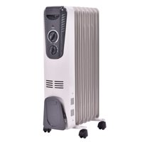 Costway 1500W Electric Oil Filled Radiator Space Heater