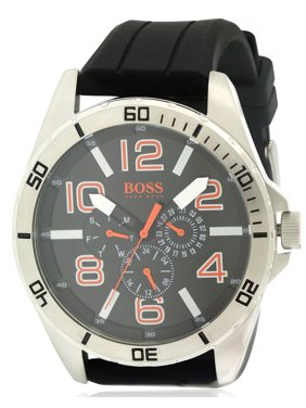 4adc775f7 Product Image Black Silcone Mens Watch 1512945