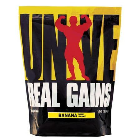 Universal Nutrition gains réels Banana Ice Cream, 6.85 Lbs