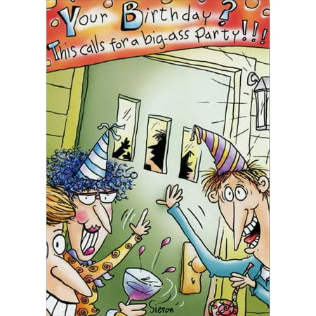 Big Birthday Pins (Oatmeal Studios This Calls For A Big Funny / Humorous Birthday)