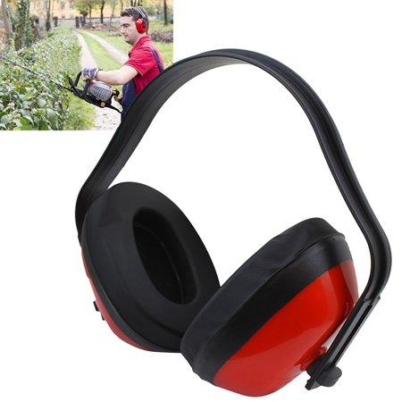 Stark Industrial Safety Earmuffs Adjustable Ear Muff ANSI Multi-Position Noise Reduction Ultra Lightweight Comfort,