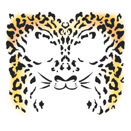 Tinsley Transfers Costume Face Kit - Cheetah](Cheetah Makeup)