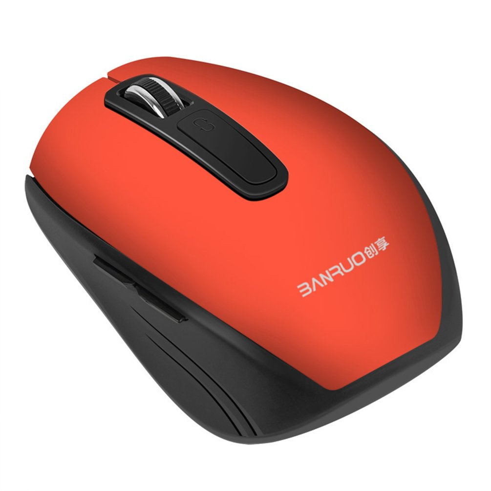 Rechargeable Wireless Mouse USB Optical Mute Mouse 2.4GHz for Computer Laptop