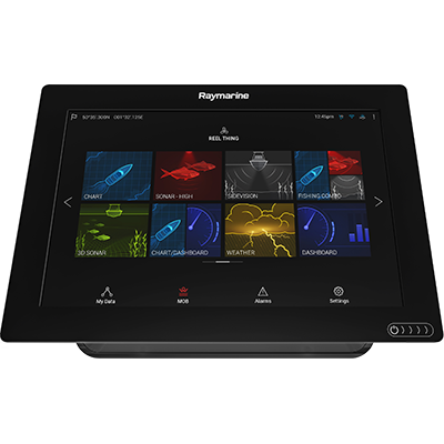 Raymarine E70365-00-NAG AXIOM 7 RV Multifunction Display with integrated RealVision 3D, 600W Sonar and Navionics+ US & Canada Charts