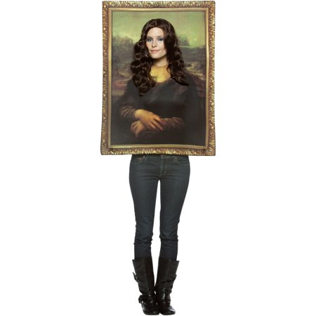 Halloween Costumes Inspired By Paintings (Mona Lisa Women's Painting)