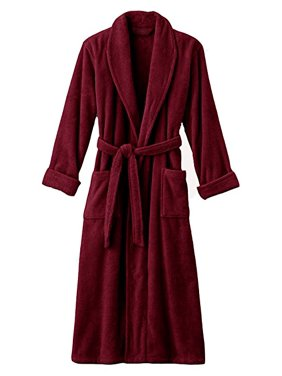 089e527a30 Product Image Hotel Luxury Reserve Burgundy Terry Velour Bathrobe For Men