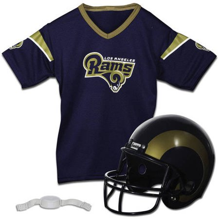 Franklin Sports NFL Los Angeles Rams Team Licensed Helmet Jersey (St Louis Rams Replica Helmet)