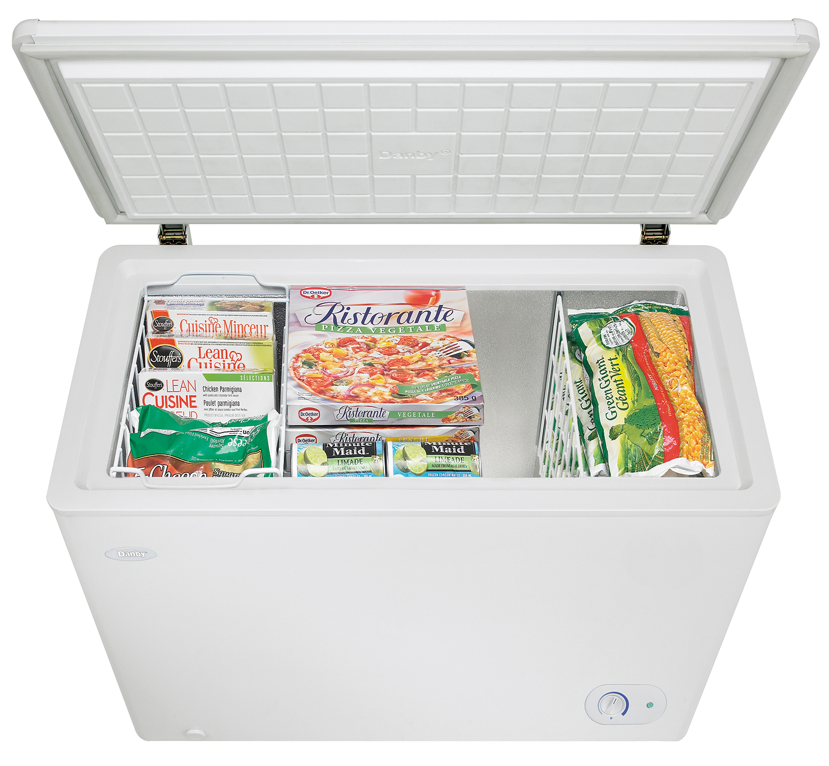 Danby 7.2 cu. ft. Chest Freezer DCF072A3WDB-3, White