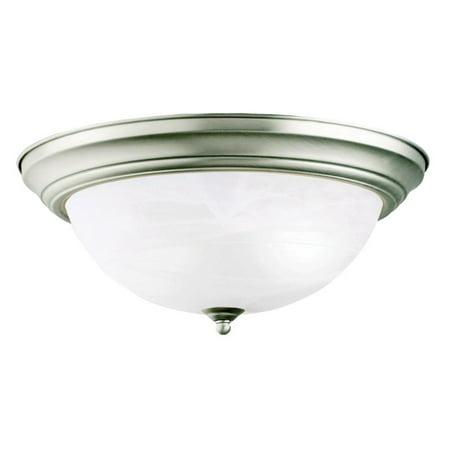 Kichler Brass Flush Mount Lighting - Kichler 8110 Flush Mount - 15.25 in.