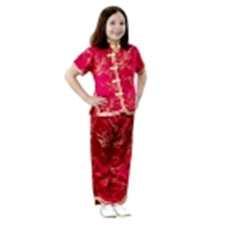 Childrens Factory Asian Girl Multi-Cultural Costume - Asain Costume