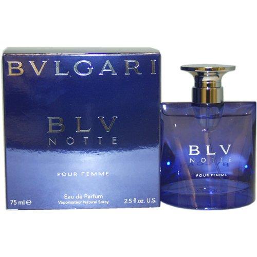 Bvlgari Bvlgari Womens Blv Notte Eau De Parfum Natural Spray 25