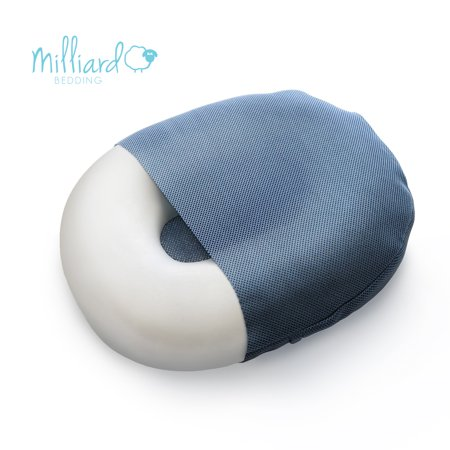 milliard foam donut cushion orthopedic ring pillow with removable