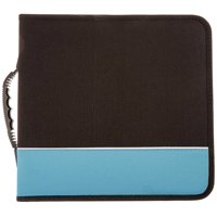 Premium Cloth 360 Compact Disc CD DVD Blu-Ray Media Wallet Folder Carrying Case, Assorted Colors ( 1 Item Only )