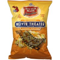 Better Made Signature Old Fashioned Movie Theater Butter Gourmet Popcorn, 7 Oz.