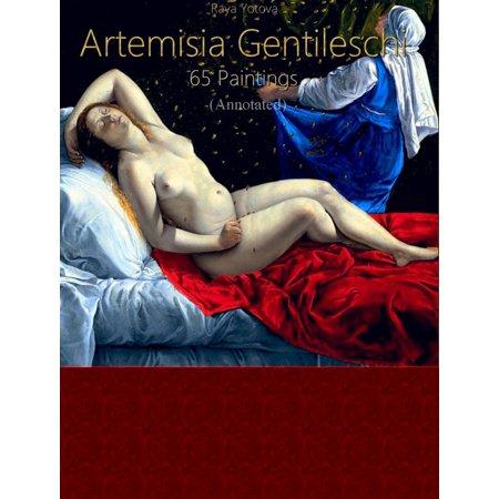 Artemisia Gentileschi: 65 Paintings (Annotated) -