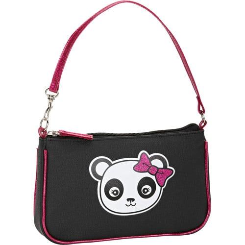 Panda Face Purse Black