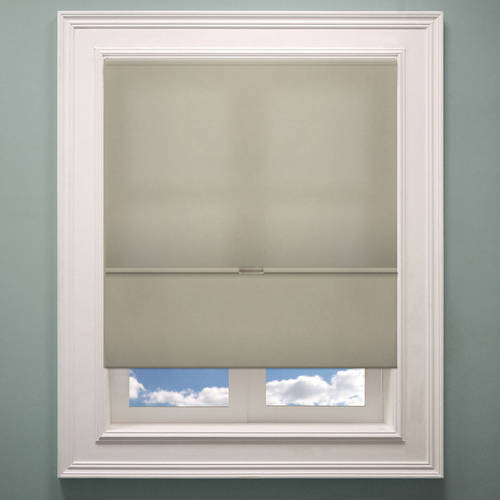"""Chicology Cordless Magnetic Roman Shades, Privacy Fabric Window Blind, Allure Crimson (Privacy & Light Filtering) - 23""""W X 64""""H"""