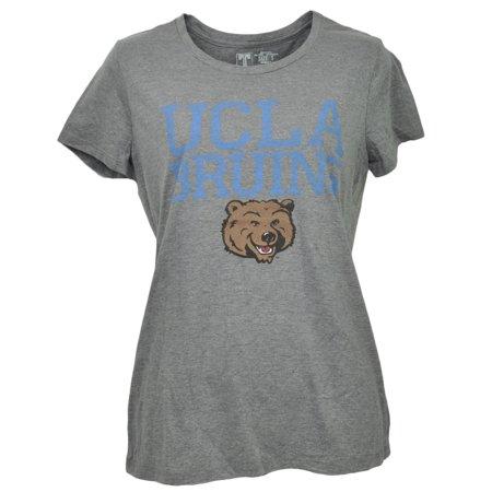 - NCAA California Los Angeles Bruins UCLA Gray Tshirt Tee Womens Crew Neck XSmall