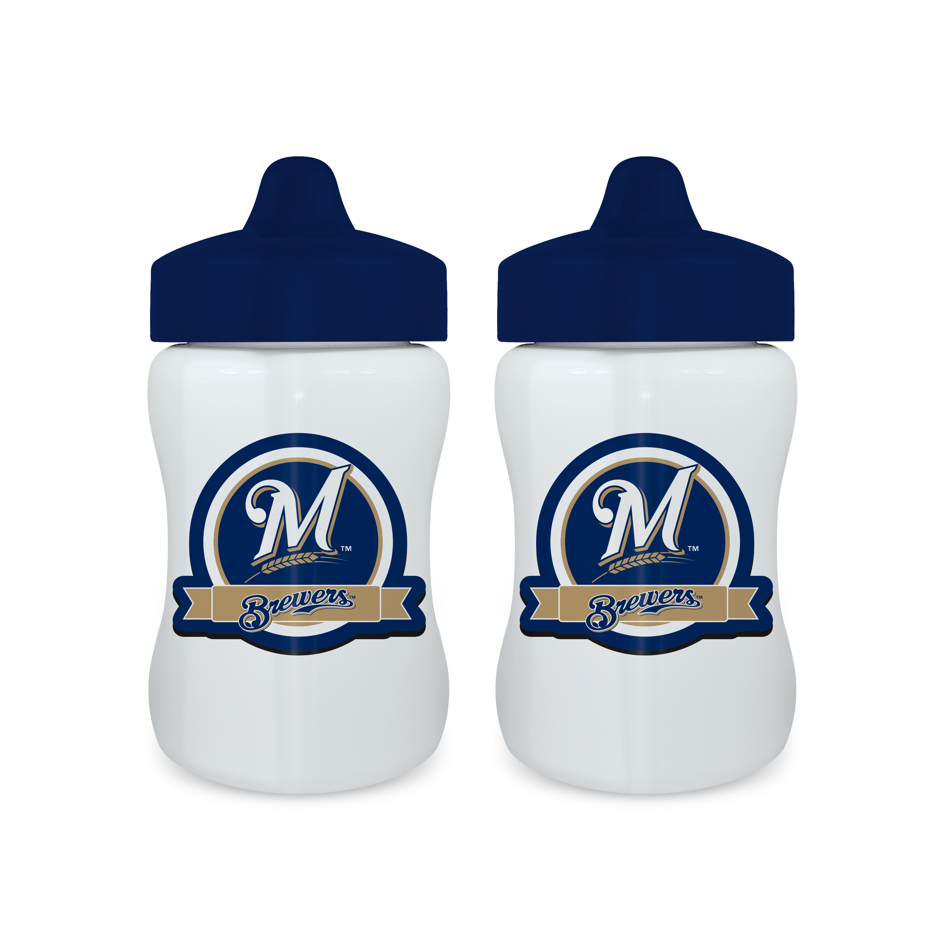 MLB Milwaukee Brewers 2-Pack Sippy Cups