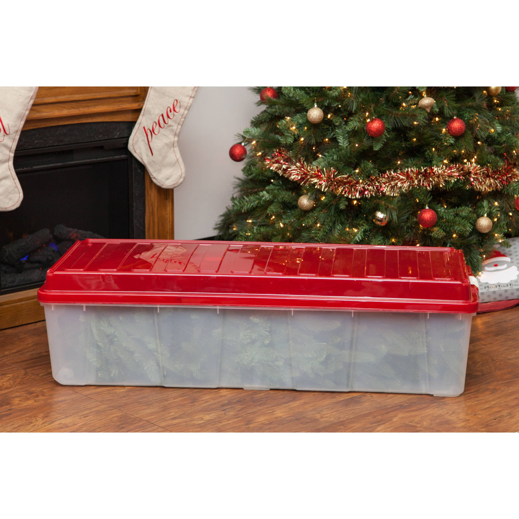 iris holiday tree storage tote walmartcom