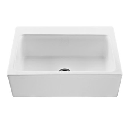 reliance whirlpools mtks250 w mccoy single bowl kitchen sink white finish - White Single Basin Kitchen Sink