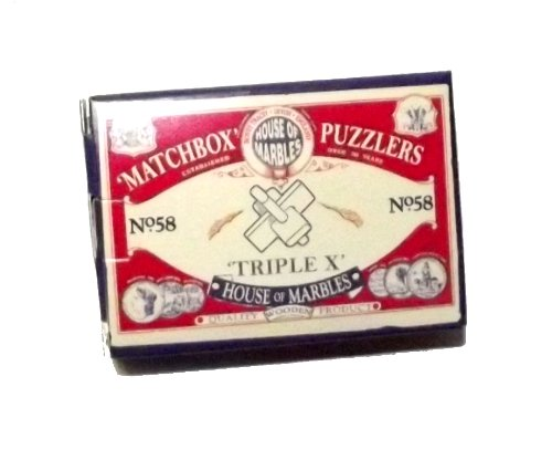 Matchbox Puzzler Triple X-1 piece by