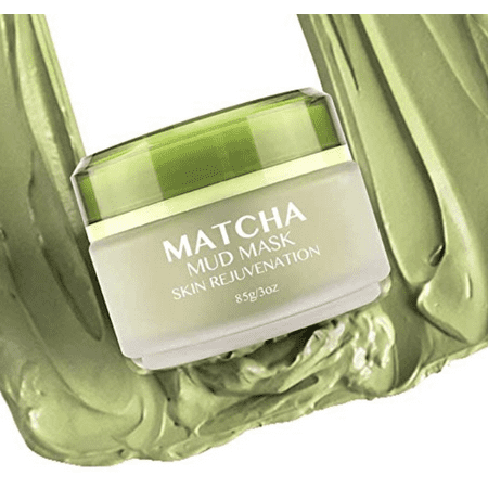 MATCHA Green Tea Face Mask, Organic Jiangsu Green Tea Matcha Facial Mud Mask, Improves Complexion, Anti-Aging, Detoxifying, Antioxidant, Moisturizer, (Best Skincare For Teens)