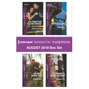 Harlequin Romantic Suspense August 2018 Box Set - eBook