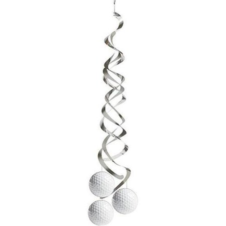 Golf Dangling Decorations (2 Pack) - Party Supplies (Golf Themed Party Supplies)