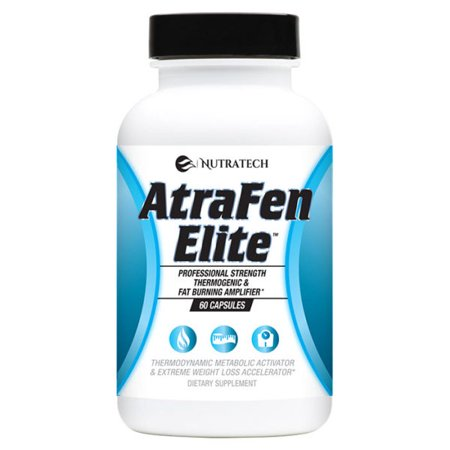 Atrafen Elite Professional Formula Fat Burner Diet Pill and Thermogenic for Fast Weight