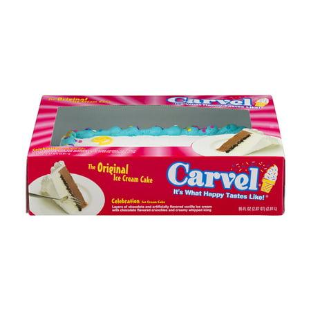 Carvel Ice Cream Cake Dimensions