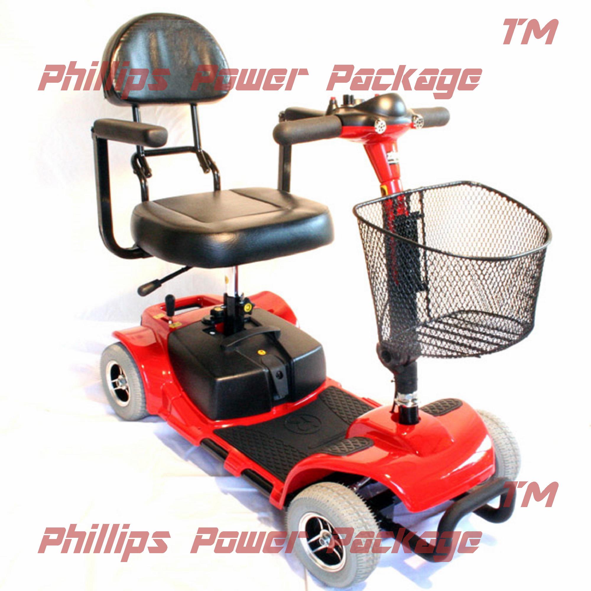 Zip'r Mobility Zip'r Roo - Travel Scooter - 4-Wheel - 16....