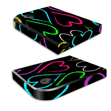 Mightyskins Protective Vinyl Skin Decal For Valve Steam Link Cover Wrap Sticker Skins Hearts